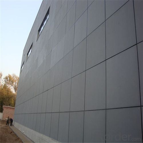 Two Sides Sanded Fiber Cement Board CMAX