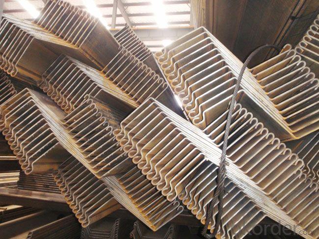 Straight Web Steel Sheet Pile