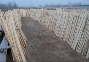 Wooden Stick Handle Natudal Wood Hoe Handle