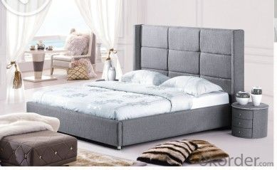 Modern Bedroom Leather  Bed 2014 Type CMAX-A19