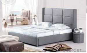 Modern Bedroom Leather Bed 2014 Type CMAX-A17
