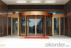 Aluminium frame automatic doors with good quality