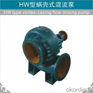 HW Horizontal Mixed Flow Pump