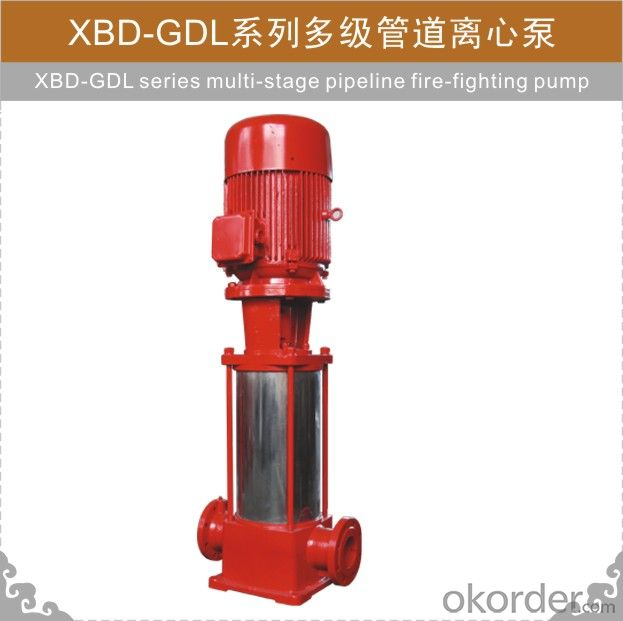 XBD-GDL Fire-fighting Pump