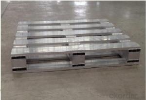 Aluminum pallet