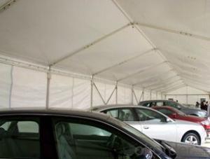Big parking tent