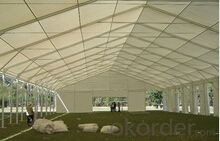 Used outdoor steel frame marquee tent