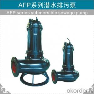 Submersible Sewage Pump WQ Series