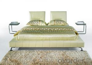 Modern Bedroom Leather Bed 2014 Type CMAX-A04