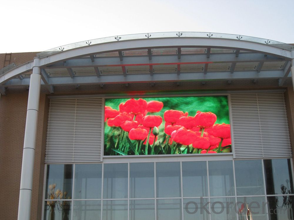 High Quality Outdoor RGB Full Color P10 LED Display