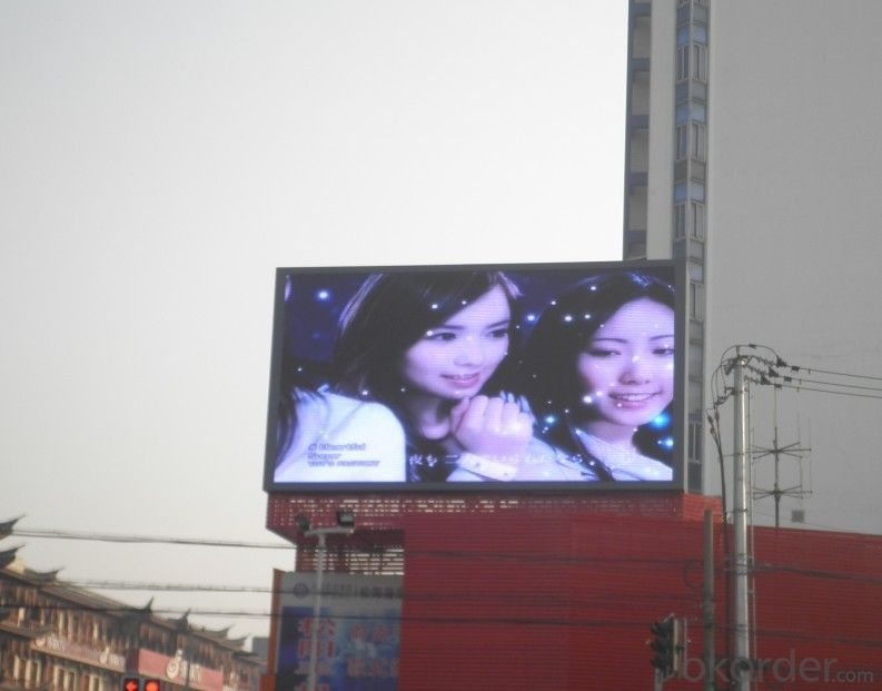 High Brightness P10 Outdoor RBG Full Color LED Screen