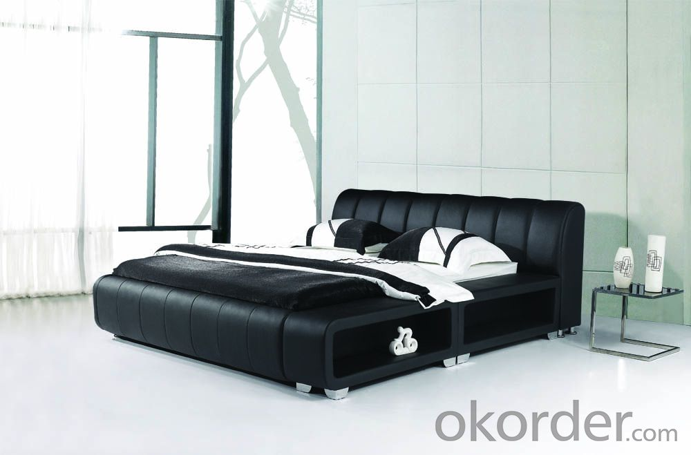 Modern Bedroom Leather Bed 2014 Type CMAX-A11