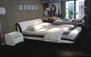 Modern Bedroom Leather Bed 2014 Type CMAX-A09