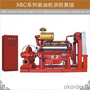 XBC Diesel Engine Fire-fighting Pump