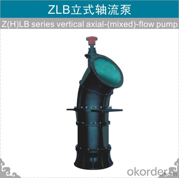 ZLB Vertical Axial/mixed Flow Pump