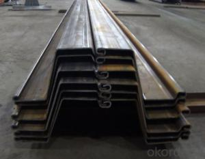 Steel Sheet Pile Coner Pile Box Pile WRG