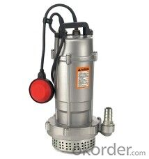 Q(D)X Submersible Pump for Clean Water