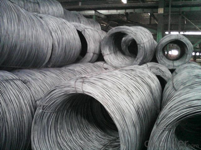 Hot Rolled Steel Wire Rod Coil Many Sizes