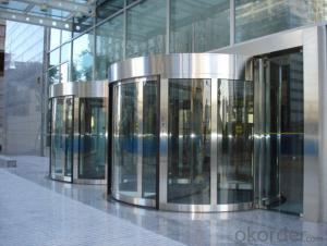 new style hot sale aluminium automatic revolving door