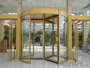 MANUFACTURER LATEST DESIGN automatic revolving door 2014