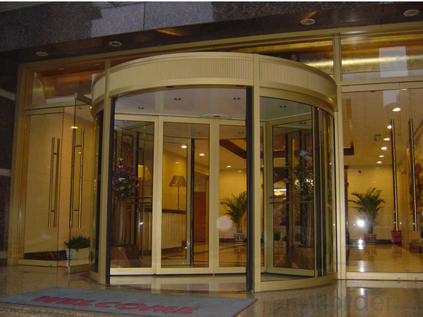 Automatic Door With Linear Magnetic Drive