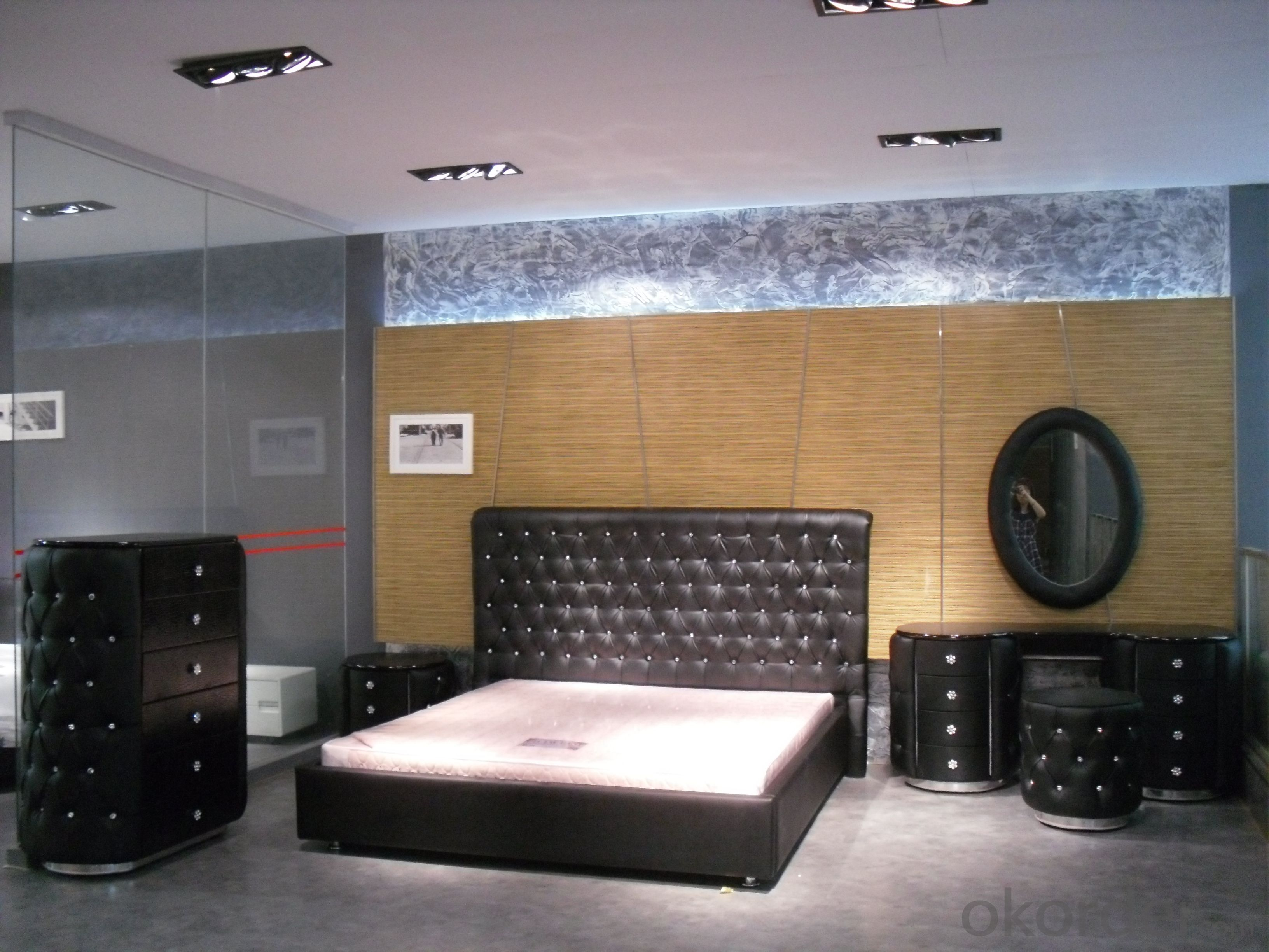 Modern Bedroom Leather Bed 2014 Type CMAX-A16
