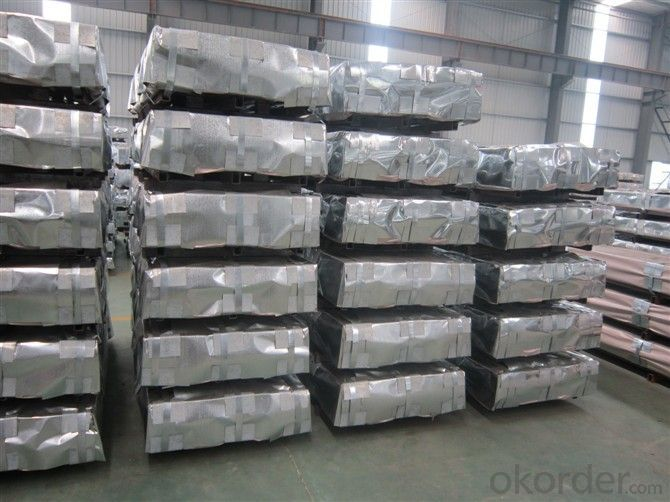 Hot Dip Galvanized Steel Plate in High  Quality