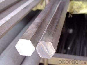 Round Shape Hexaggonal Steel