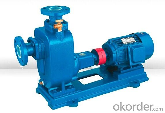 ZW Blockage-free Self Priming Centrifugal Water Pump