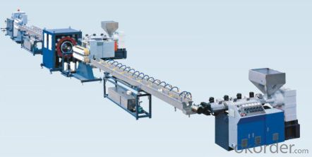 PVC Fiber Reinforced Hose Machine Extrusion Production Line