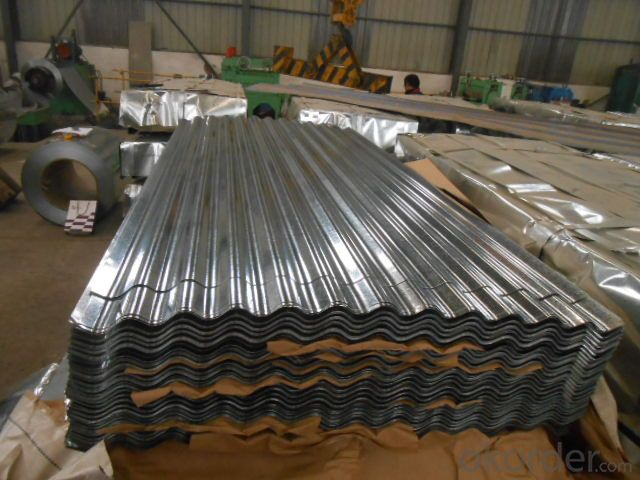 CORRUGATED HOT DIPPED GALVANIZED STEELSHEETS