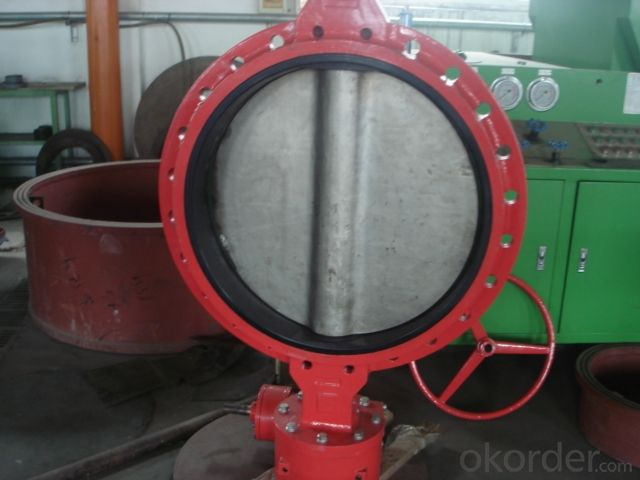 Butterfly Valve Turbine Type with Hand Wheel