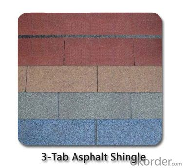 Asphalt roof shingle for hot temperature
