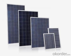 Solar panel poli125 80W new energy solar product