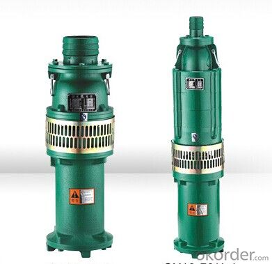 QY Oil-filled Submersible Pumps