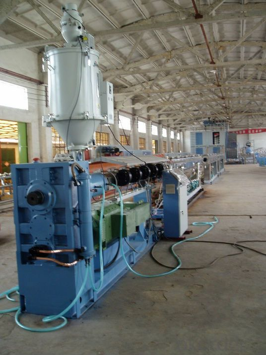Plastic Machine PVC Pipe Extrusion Production Line