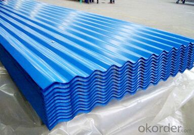 Best COATED GALVANIZED CORRUGATED STEEL SHEET