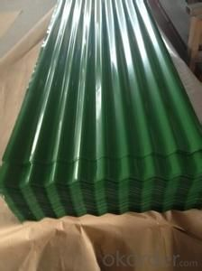 COATED GALVANIZED STEEL CORRUGATED SHEETS