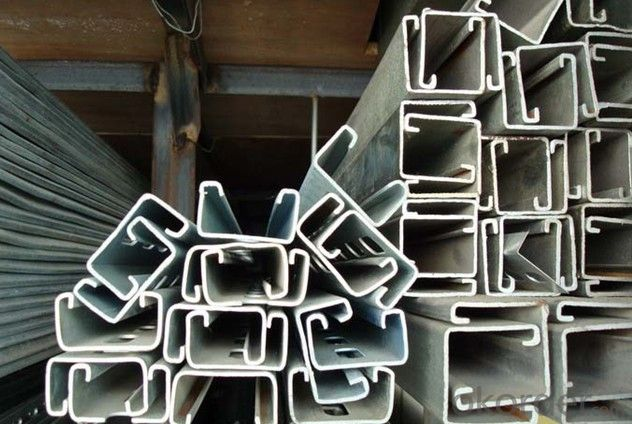 Hot dipped Galvanized strut C channel 41*21
