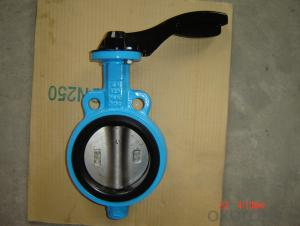 Butterfly Valve of Ductile Cast Iron Made in China 8000