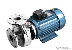 Horizontal Stainless Steel Centrifugal Water Pump