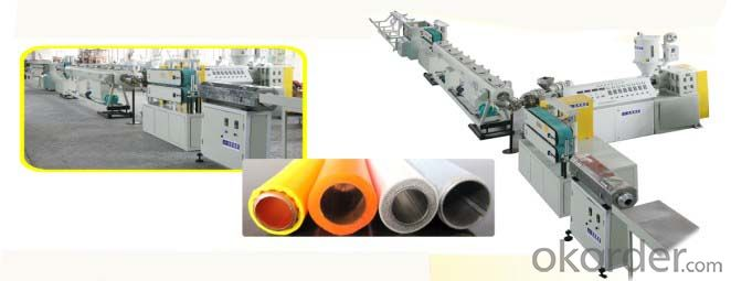 PPR PE Steel Cooper Plastic Composite Polyethylene Pipe Production Line