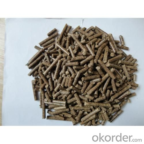 Wood pellet 100% natural with  high quality