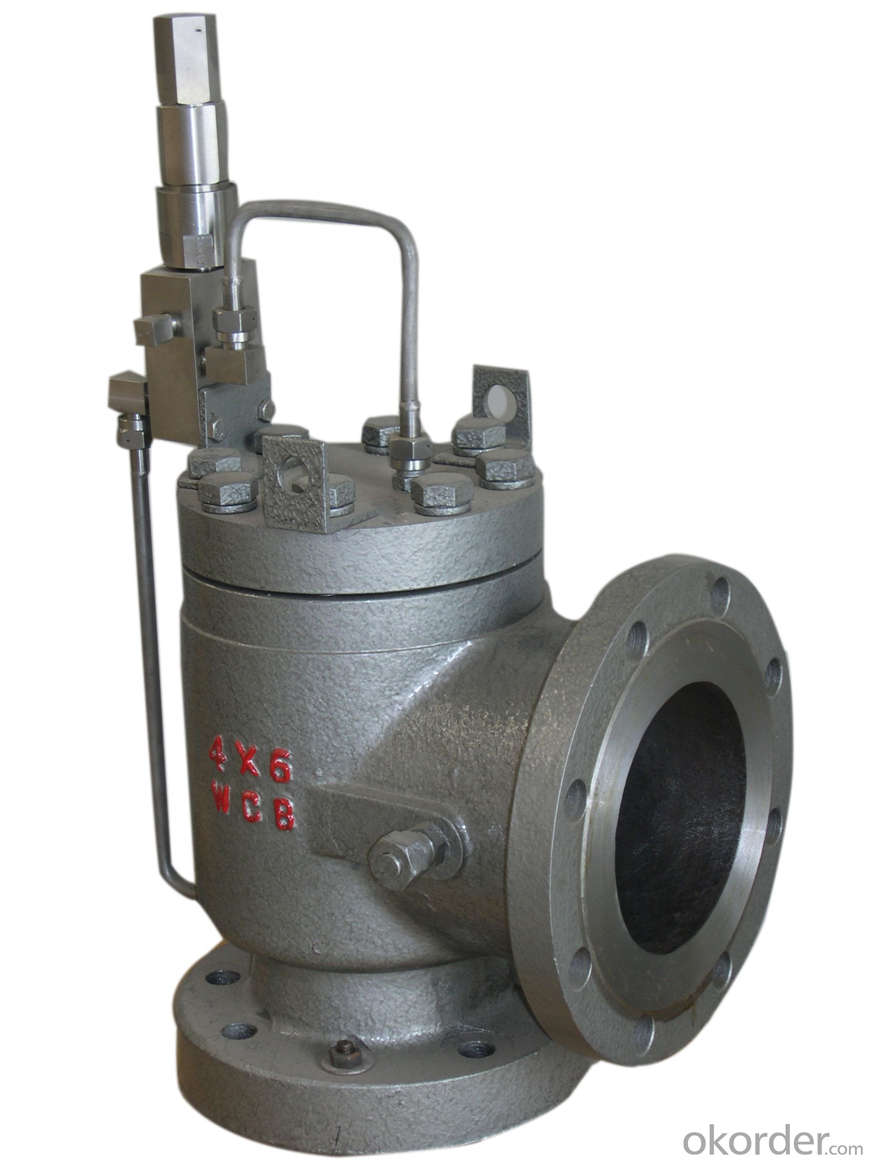 High Performance API Pilot Operated Pressure Relief Valve