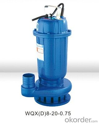 WQX.WQXD Sewage Submersible Pumps