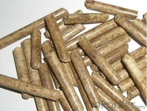 Wood pellet with low ash content