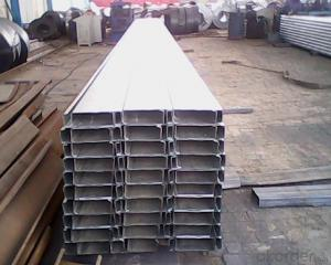 Hot dipping galvanized C Channel 41*21