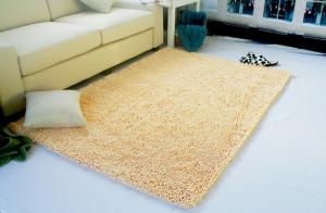 Cheap Soft  Chenille Door Bath Mat , Living Room Carpet