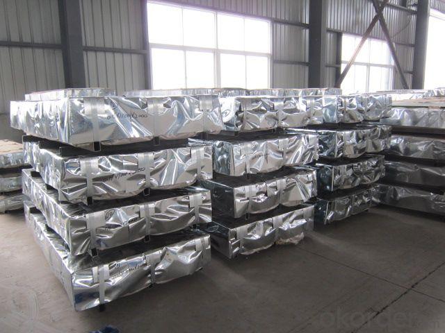 Corrugated Hot -Dip Galvanized Steel Sheet