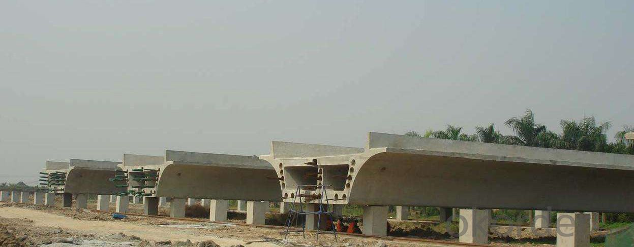 Box shaped girder